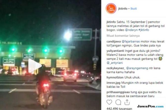 JSMR Jasa Marga: Setiap Bulan Satu Motor Melintas di Jalan Tol | JawaPos.com - Selalu Ada yang Baru