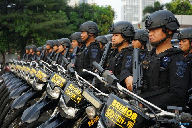 Jelang Pengundian No Urut Capres, Polisi Perketat Titik Kumpul Massa