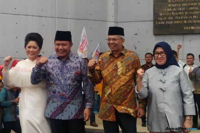 Jelang Pilpres, Gubernur Sumsel Berikan Dukungan ke Jokowi
