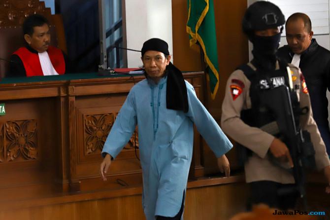 Jelang Sidang Vonis Aman Abdurahman, Pengamanan PN Jaksel Berlapis
