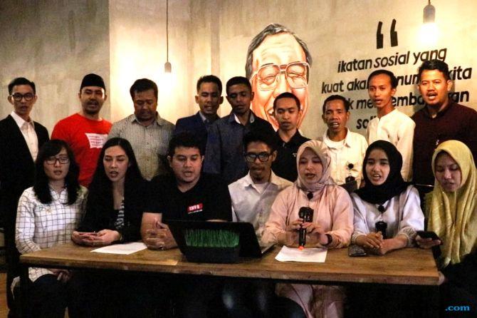 Jelang Sumpah Pemuda, Caleg Muda Kader Bangsa Deklarasi