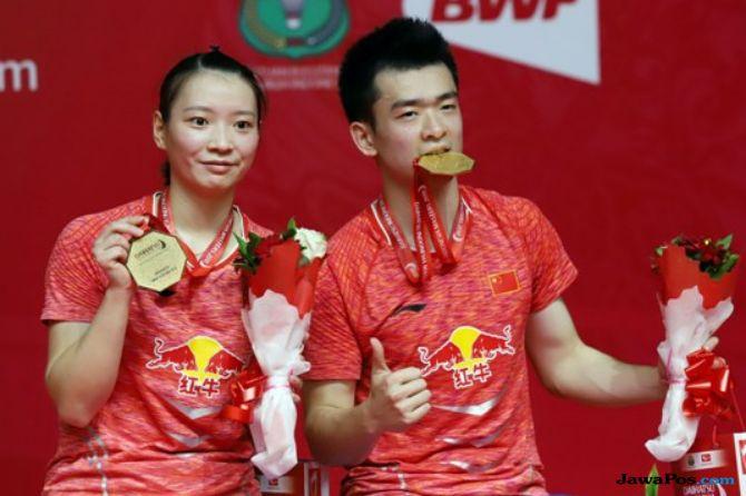 Kejuaraan Dunia 2018, Zheng SIwei/Huang Yaqiong, Tiongkok