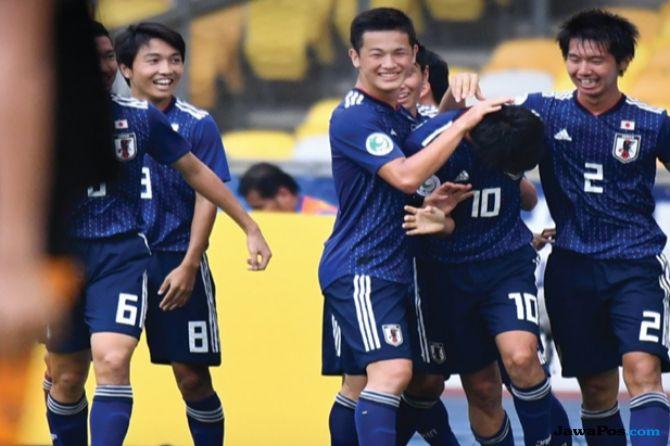 Piala Asia U-16 2018, Jepang, Oman, Jepang 2-1 Oman, Semifinal, Timnas U-16 Indonesia
