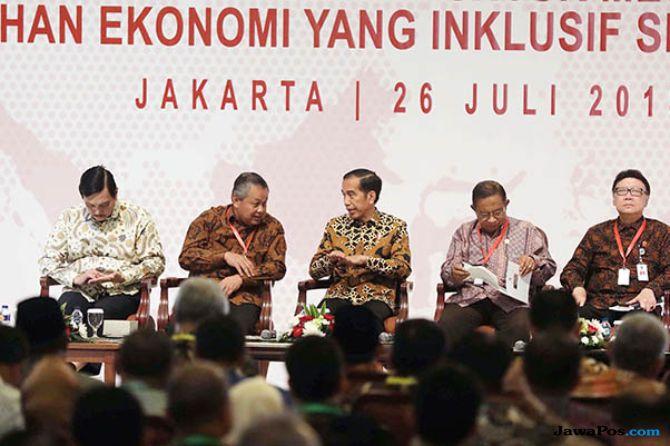 Jokowi Ingin Target Inflasi Indonesia Seperti di Negara Maju