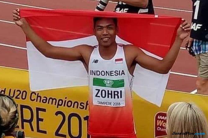 Lalu Muhammad Zohri, atletik, lari 100 meter, Asian Games 2018