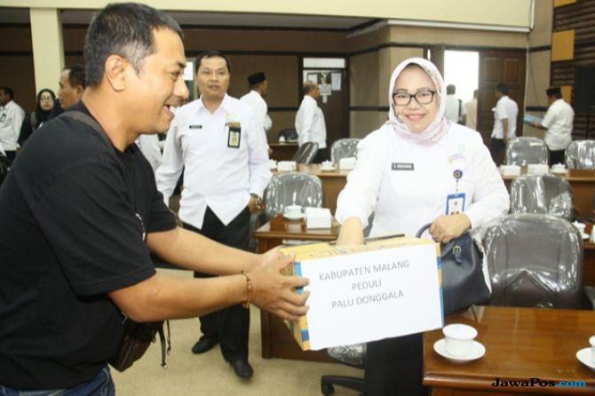 Jurnalis di Malang Galang Dana untuk Korban Gempa Palu Usai Rapat DPRD