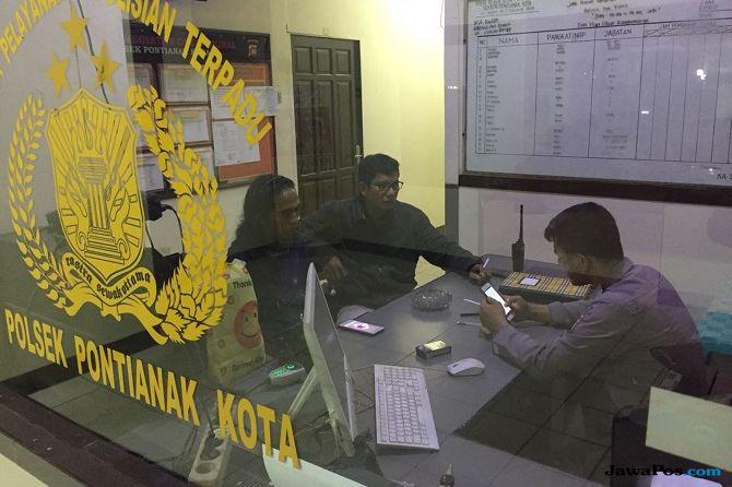 Jurnalis iNews TV Diintimidasi Driver Taksi Online