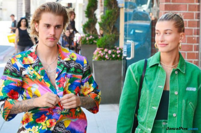 Justin Bieber dan Hailey Badlwin Dinasihati Agar Tak Buru-Buru Nikah