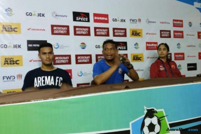 Kalah dari PSM, Arema FC Akui Telat Panas