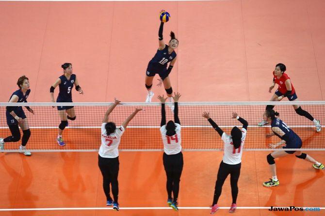 Asian Games 2018, voli, Indonesia, Korea Selatan