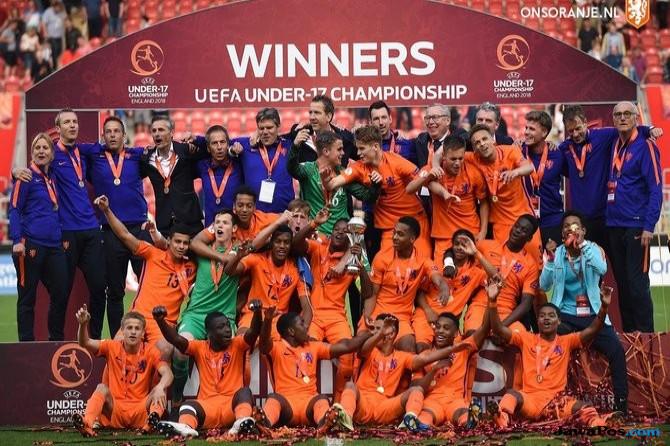 Timnas Belanda, Timnas Italia, Piala Eropa U-17, Euro U-17,
