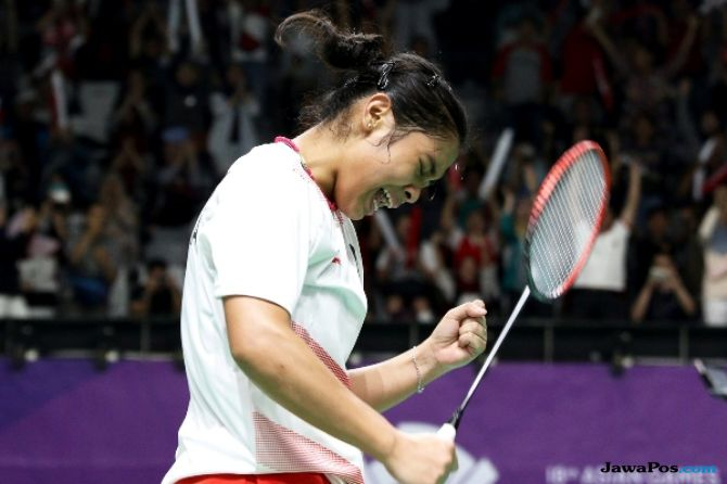Asian Games 2018, bulu tangkis, Indonesia, Korea Selatan
