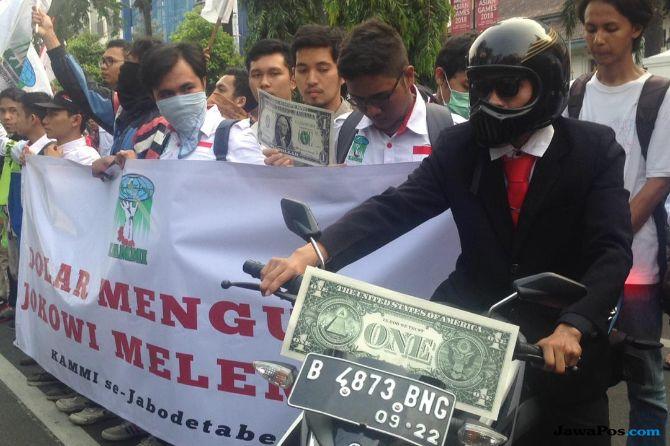 Kalau Demo Rupiah Anarkistis, Polri Bakal Tindak Tegas