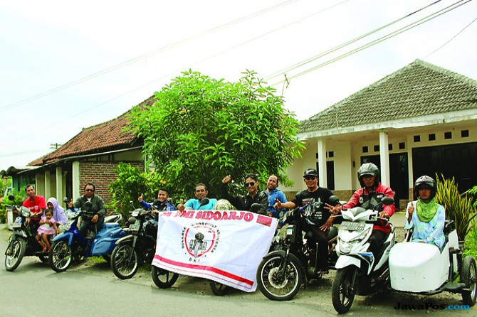 Kampanye Akses Layanan Publik Komunitas Disable Motorcycle Indonesia