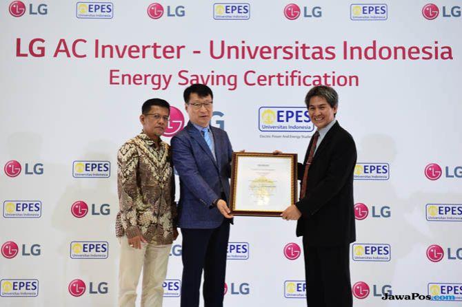 LG AC, LG sertifikat UI, LG hemat listrik
