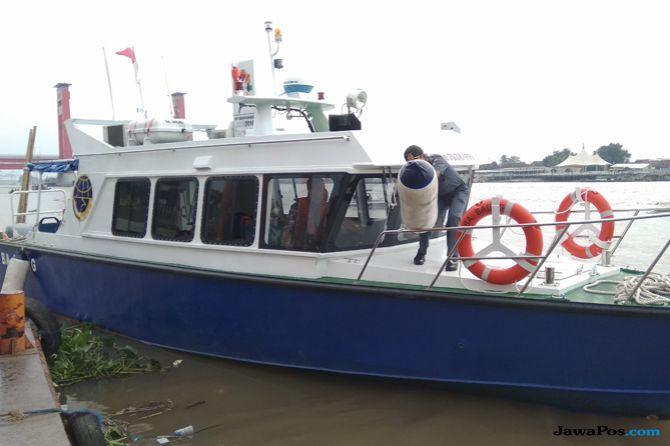 Kapal Seharga Rp 2,2 Miliar Diberikan untuk Palembang