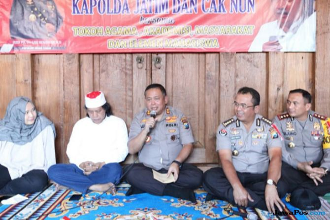 Kapolda Minta Kapolres Malang Sering Nyangkruk
