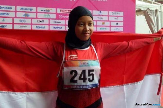 Asian Para Games 2018, INAPGOC, Kemenpora, Indonesia, atletik, Karisma Evi Tiarani