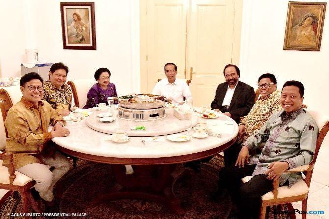 Kata OSO, Satu Nama Cawapres Itu Bikin Jokowi Cekikikan