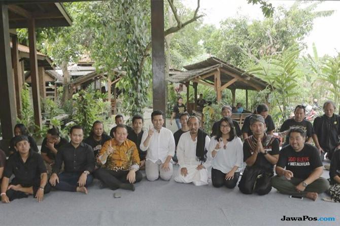 Ke Trowulan, Emil Dardak Siap Restorasi Situs Kerajaan Majapahit