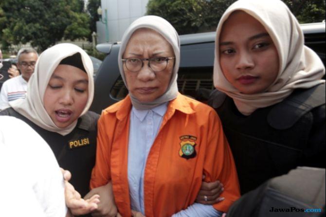 Kembali Diperiksa Penyidik, Ratna Sarumpaet Bungkam