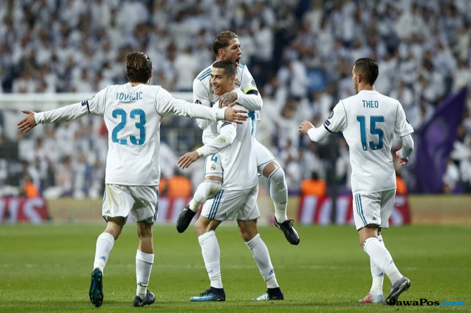 Kemenangan Madrid atas Dortmund Dihiasi Rekor Apik Ronaldo