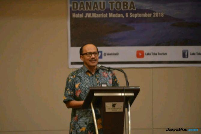 Kemenpar Gandeng Jurnalis di Sumut untuk Pengembangan Danau Toba
