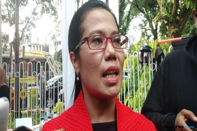 Sekretaris DPD PDIP Jatim Sri Untari.