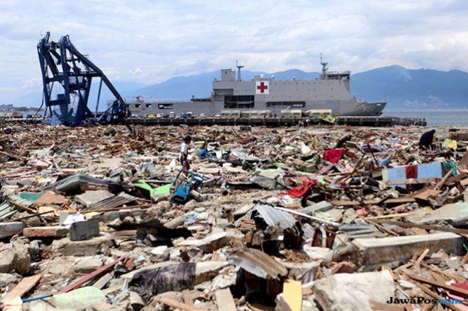 Kerahkan Kapal Canggih, TNI Petakan Lagi Teluk Palu