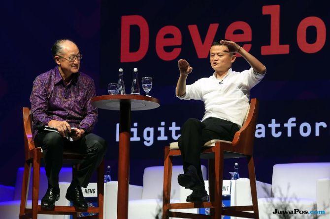 Ketemu Jack Ma, Ini Yang Dibahas Menko Darmin