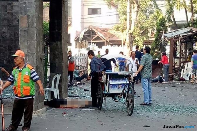 Khofifah Mengutuk Keras Aksi Teror Bom di Gereja Surabaya