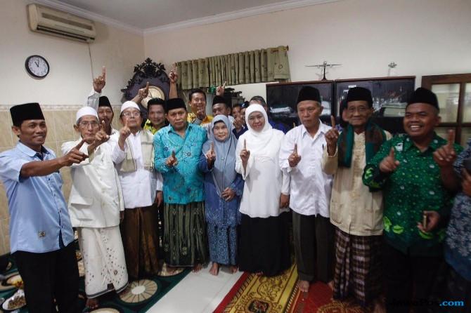 Kiai Kultural NU Gresik Siap Menangkan Khofifah-Emil