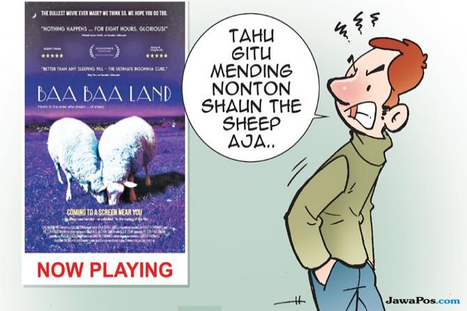 Kisah Film Paling Membosankan, Bikin Penonton Benci Kambing