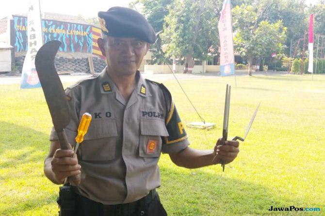 Kisah Pak Eko, Polisi yang Viral karena Tangkas Melempar Benda (1)