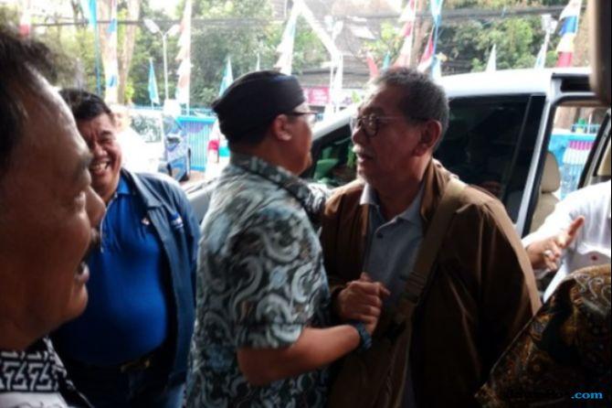 Klarifikasi Jadi Jubir Jokowi, Demiz Sambangi DPD Demokrat Jabar