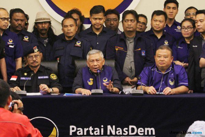 Komentari Timses Rival, Nasdem: Koalisi Prabowo-Sandi Compang-Camping