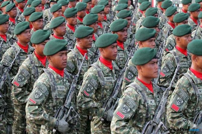 Kontak Senjata dengan Kelompok Separatis, 1 Prajurit TNI Gugur