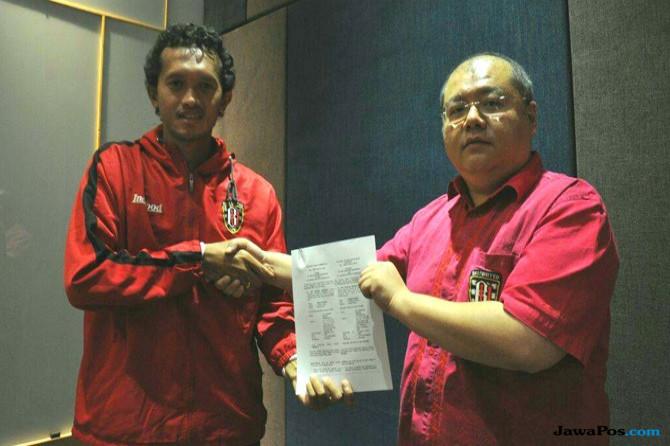 Kontrak Baru Jadi Hadiah Terindah Defender Bali United