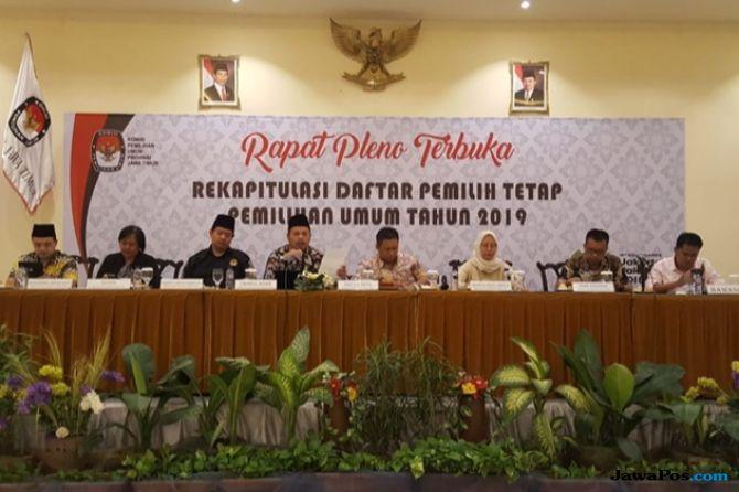 KPU Jatim Tetapkan DPT untuk Pemillu 2019