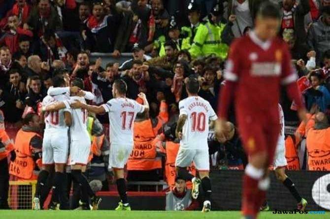 Krisis Berlanjut, Liverpool Ditahan Imbang Sevilla