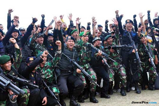 Kronologi TNI-Polri Bebaskan 347 Sandera KKB di Papua