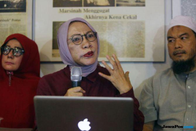 Kubu Prabowo Tak Beri Bantuan Hukum, Ratna Sarumpaet Pasrah