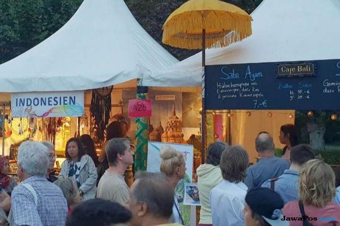 Kuliner dan Kerajinan Indonesia Disambut Antusias Warga Frankfurt