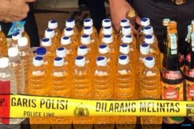 Lagi, Pabrik Miras Oplosan Digerebek Polisi