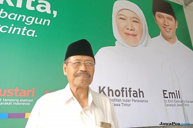 Lanjutkan Program Jokowi, Khofifah-Emil Pakai Tagline 'Kerja'