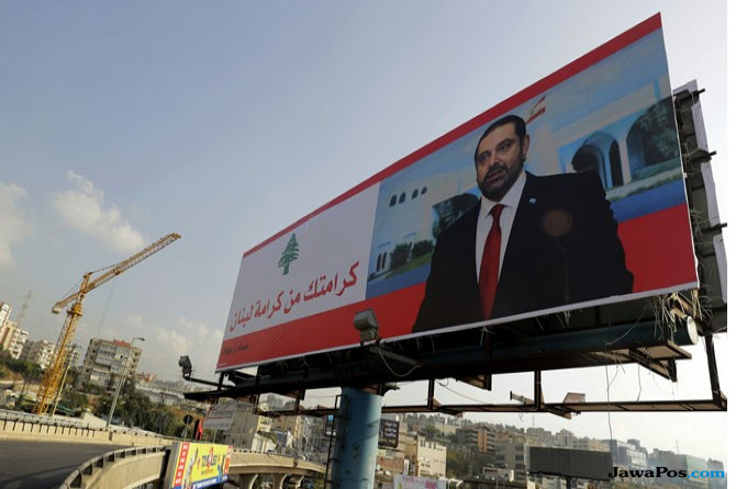 mantan Perdana Menteri Lebanon (PM) Saad Al Hariri