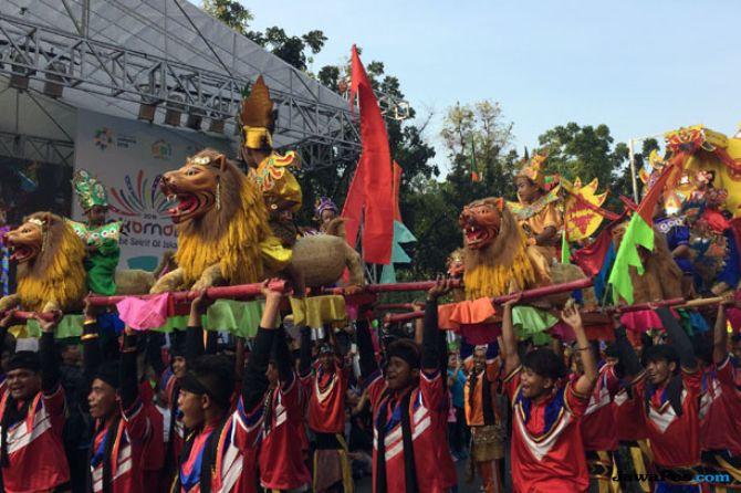 Pawai Budaya Jakarnaval 2018