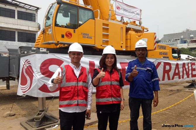 Lepas Saham, Superkrane Mitra Utama Banjir Permintaan 991 Persen