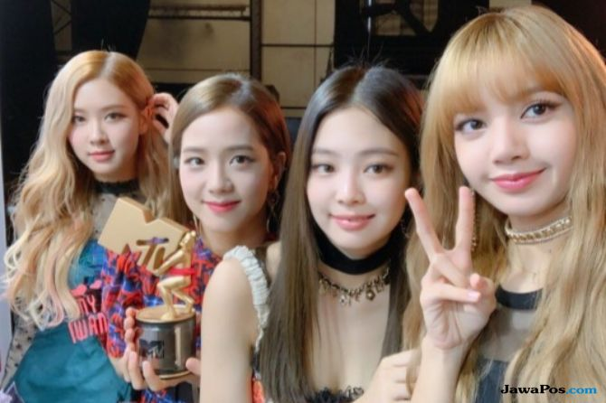 Lewat 'Ddu-Du Ddu-Du, Blackpink Menang 'Best Dance Video' di MTV VMAJ