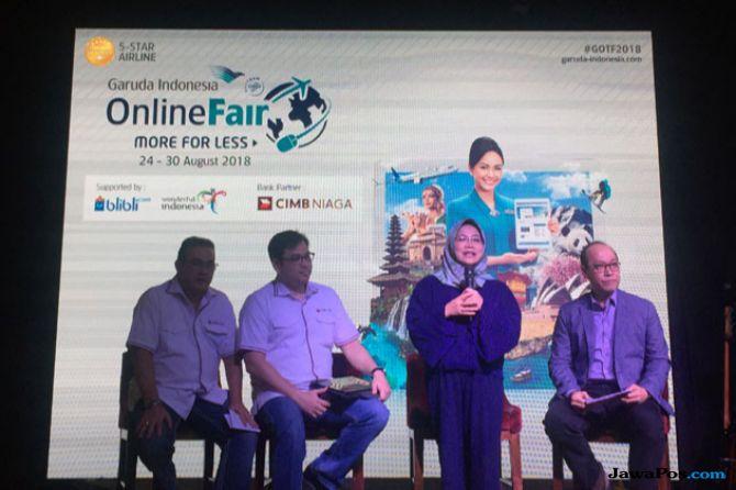 Lewat GOTF, Bisa Dapat Diskon Tiket Liburan Garuda Indonesia